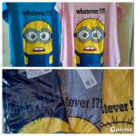 kaos minion fit to XL @55ribu